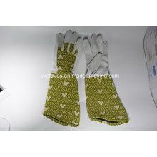Long Cuff Garden Glove-Full Leather Garden Glove-Pig Leather Glove