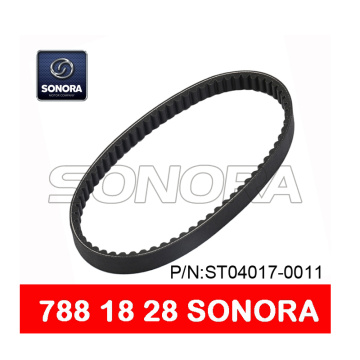 SCOOTER V BELT 788 x 18 x 28 MOTORCYCLE V BELT (P / N: ST04017-0011) CALIDAD ORIGINAL