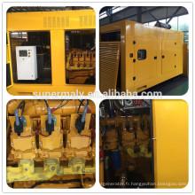 Supermaly 100KW Générateur de gaz avec contrôleur Deepsea
