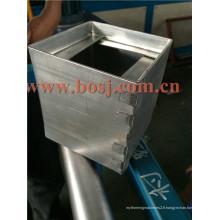 Équipement de stationnement à air conditionné Amortisseur de volume d'air carré pour machine à former un rouleau de conduit Vietnam