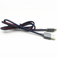 Cable de carga de datos USB de Denim Jeans para HTC