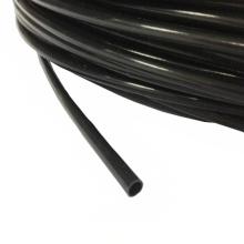 Tubería plástica negra de la guía del cable del engranaje de la manguera de PTFE