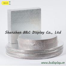 Prix pas cher avec des tambours de gâteau de rectangle de papier de papier aluminium de haute qualité avec des GV (B et C-K042)