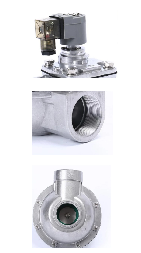 Product detailed pictures of DMF-Z-62S Right Angle Solenoid Diaphragm Control Pulse jet valve