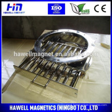 Drawer Magnets are ideal for removal of iron and paramagnetic contamination from sugar, grain, tea, etc