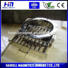 Ímãs de gaveta são ideais para a remoção de ferro e contaminação paramagnética de açúcar, grãos, chá, etc