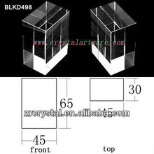K9 Leer Crystal für 3D Lasergravur BLKD498