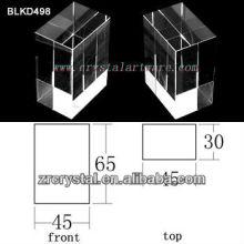 K9 Blanc cristal pour BLKD498 de la gravure de Laser 3D