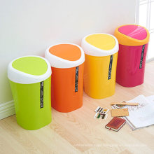China Manufacturer of Best Colorful Plastic Waste Bin