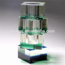 Vase en verre cristal bon marché pour la maison ou la décoration de mariage