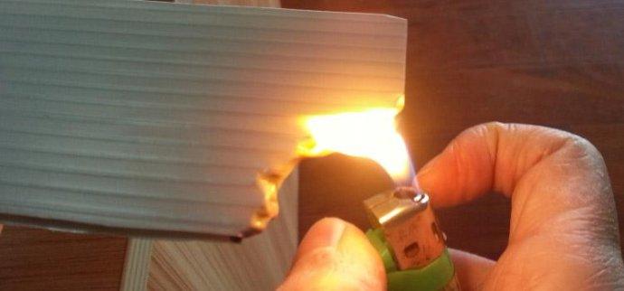 Flame Retardant Insulating Slab
