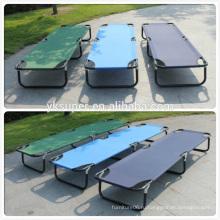 Легкая двойная военная складная кровать для кемпинга