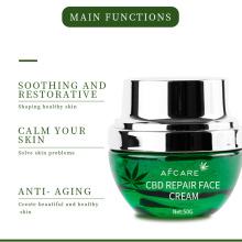 Whitening Anti Aging Hemp Cbd Face Cream Moisturizing Face Smoothing Skin Care Repair Cbd Gel