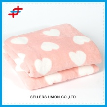 Custom Wholesale Winter Warm Coral Fleece Blanket