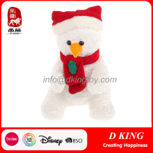 Custom Personalized Christmas Ornaments Plush Snowman Toys
