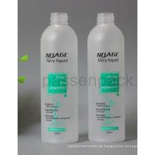 Bereifte Haustier-Plastikflasche 250ml für das kosmetische flüssige Verpacken