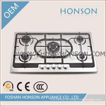 De Buena Calidad Encimera a gas de 5 hornillas para electrodomésticos de cocina