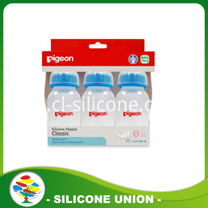 Pigeon Silicone nipple bottle