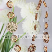 En gros 29MM & 18 MM Crystal perlé Garland Trim