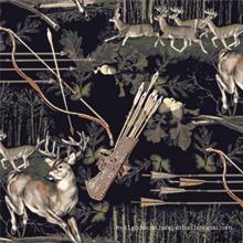 Digital bedrucktes Gewebe aus Ramie Cotton (DSC-502)