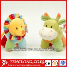 2014 новый дизайн милый и маленький плюшевый игрушки для младенца для ребенка