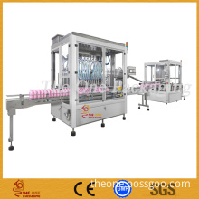 Filling Line for Viscous Liquid, Oil, Shampoo