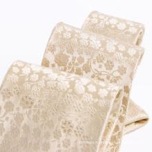 100% Cravate en soie tissée tissée à la main pour homme