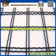 Crimped Decorative Woven Wire Mesh for Museum