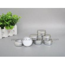 10g Aluminium-Creme-Glas mit Schraubdeckel (PPC-ATC-067)