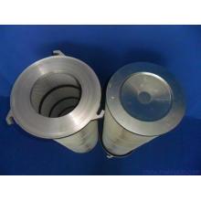 Fournisseur de la Chine 3 pattes bride et l'eau repoussant le collecteur de poussière plissé cartouche de filtre à air