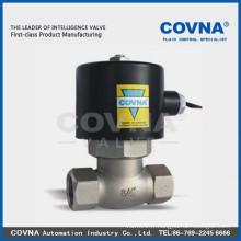 Détecteur basse pression de l'eau de l'eau électrovanne en acier inoxydable