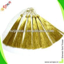 Gold color tassel,gold thread color tassel