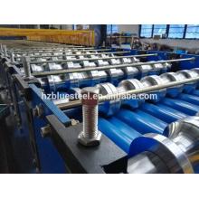Machine de fabrication de feuilles de toiles en tôle en aluminium de couleur, métal, plate-forme, carrelage, toiture, carrelage, fabrication, machine, prix