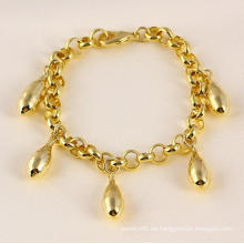 Pulsera de la manera del color del oro de Xuping 14k (71479)