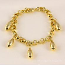 Xuping 14k Золото Цвет Мода Браслет (71479)