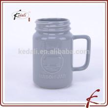 500 ML Keramik MASON JAR Becher