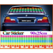 Autocollant réfléchissant clair professionnel / autocollant de butoir réfléchissant fait sur commande / autocollant réfléchissant pour des voitures