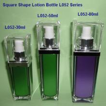 Square Lotion Bottle L052G
