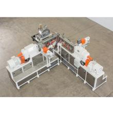 Système de granulation composé de PVC d'extrudeuse en plastique