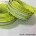 Home textile waterproof reflective nylon zipper