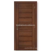 Diseños de la puerta del dormitorio de tablero MDF populares huecas