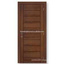 Popular hollow core MDF board bedroom door designs