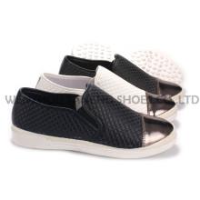 Damenschuhe Freizeit PU Schuhe mit Rope Outsole Snc-55010