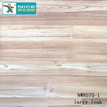 NWseries Larry Teak Revestimento de madeira do parquet HDF núcleo Revestimento do parquet