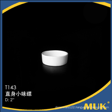 wholesale from china guangzhou pure white rectangle design porcelain small plate for restaurant