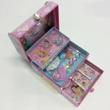 Paper drawer three-layer kid storage box