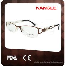 2017 handgemachte edelstahl metall optische brillen & metall optischen rahmen