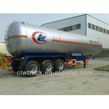 Semi reboque tri-axle 56cbm lpg transporte