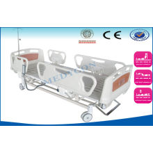 Multifunctional Icu Hospital Bed , Abs Board Emergency Sickbed For Old Man