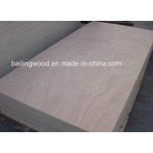 Contreplaqué commercial de base de bois dur de bas prix de 12/15 / 18mm avec la qualité